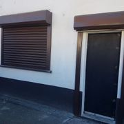 motorised steel shutters coloured