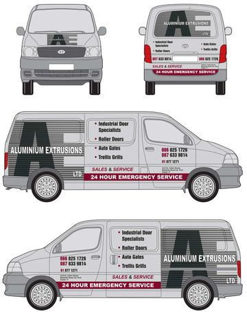 Aluminium Extrusions Ltd. van